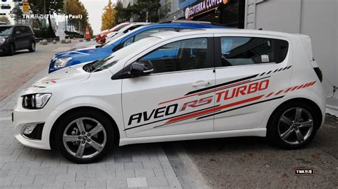 2014 Chevrolet Aveo RS(Sonic RS) Turbo released . YouTube