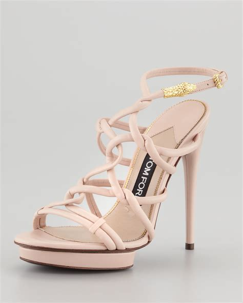 Wedges Baby Pink 4ps 01 light pink sandal heels is heel