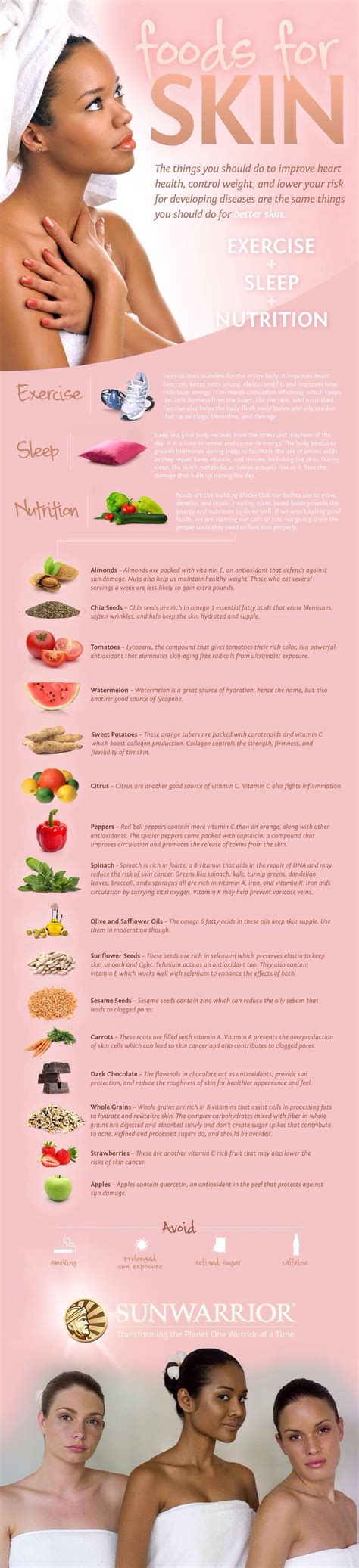 9 Best Foods For Your Skin by Best Food For Your Skin Trusper