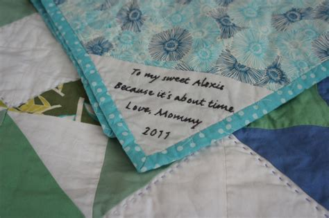 Handmade Labels For Quilts - handmade a overdue quilt jmday