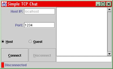 java swing client java tcp sockets and swing tutorial