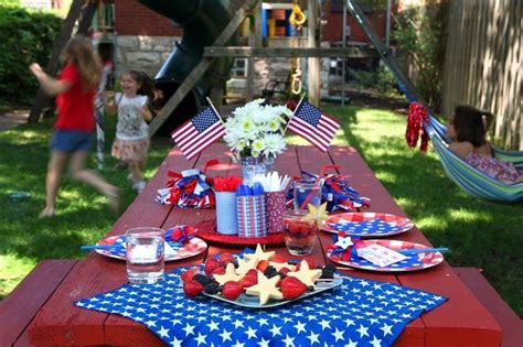 celebrate the fourth of july with colorful foods crafts