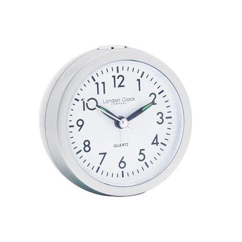 alarm clock in silver
