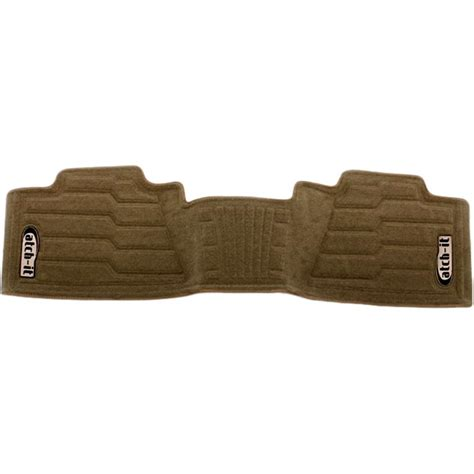 new nifty products floor mats rear tan f150 truck ford f