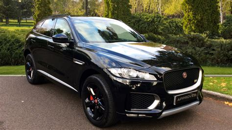 jaguar f pace black used jaguar f pace black cars for sale grange