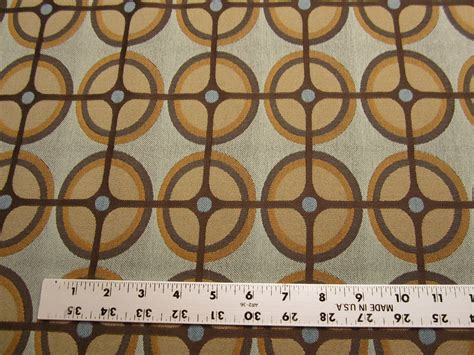 geometric pattern upholstery 8 1 8 yards of geometric circle pattern upholstery fabric
