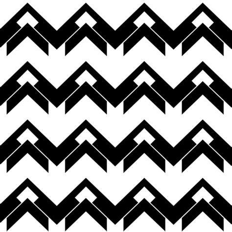 black and white chevron pattern chevron pattern in black and white art print by vanessagf