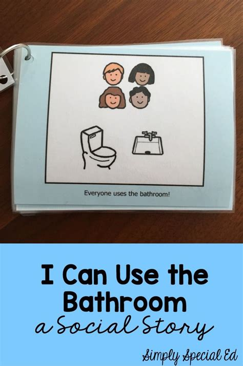 social story for using the bathroom at school social story i can use the bathroom students school