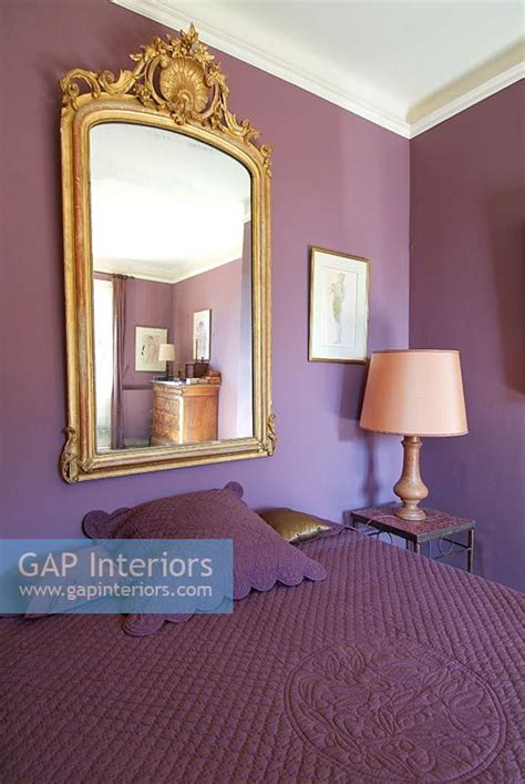 lavender painted walls gap interiors classic bedroom with purple painted walls