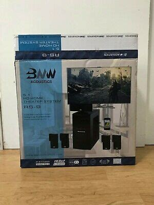 nrg acoustics hd series professional home theater model sg