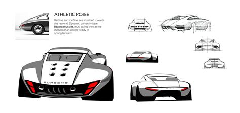 porsche 901 concept interior porsche 901 concept by ege arguden design sketches car