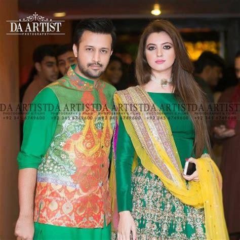 atif aslam wife atif aslam with his gorgeous wife sara reviewit pk