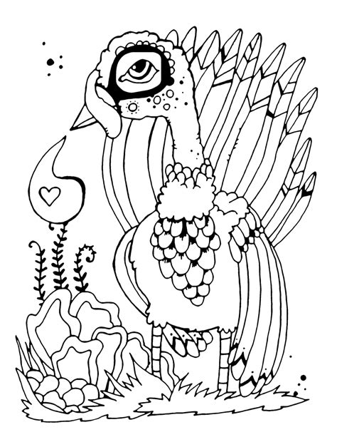 thanksgiving abstract coloring pages turkey coloring pages sketch coloring page