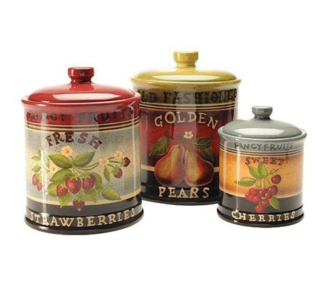 country kitchen canisters sets top 68 ideas about canisters on pinterest kitchen