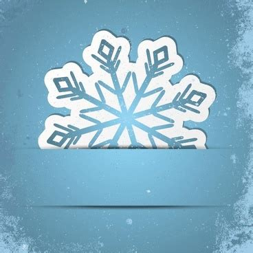 snowflake card template corel draw invitation card template free vector
