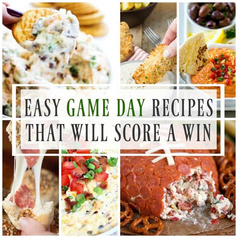 easy day recipes easy day recipes that will score a win a dash of sanity