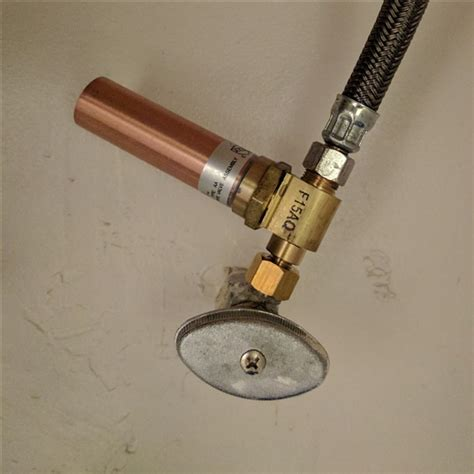 Plumbing Water Hammer 27 Water Pipe Hammer Arrestor Sharkbite Push Fit
