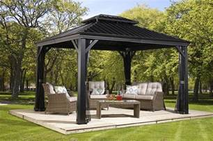 Pvc Patio Furniture Parts by Messina Gaz 233 Bos 224 Toit Rigide Collections Sojag