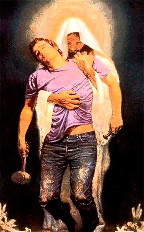 Imagenes De Jesus Levantando A Un Hombre   aprended de m 237 que soy sencillo y humilde de coraz 243 n