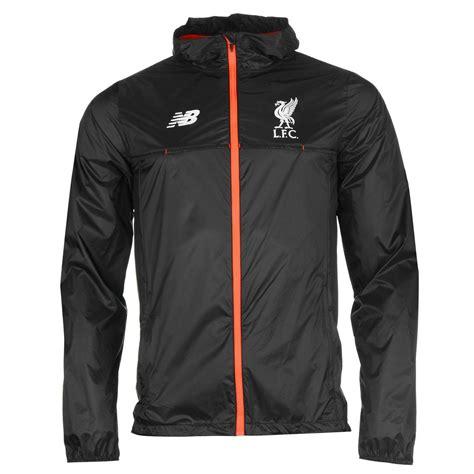 Jaket Fc new balance liverpool fc jacket mens black football soccer coat top ebay