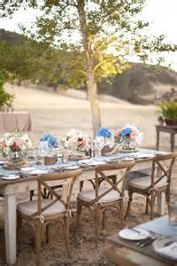 Rustic Elegance Home Decor Real Wedding Rustic Elegance At Figueroa Mountain