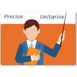 imagenes de vectores unitarios 01 precios unitarios curso presencial para certificaci 243 n