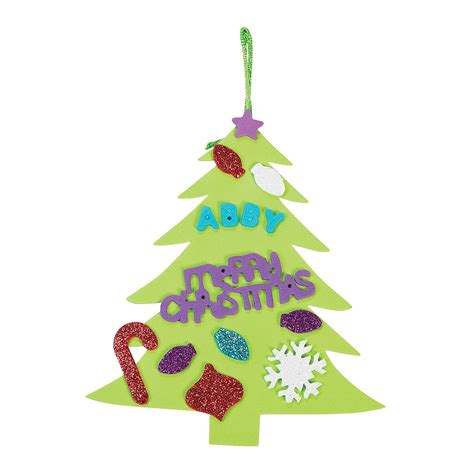 christmas tree ornament craft kit oriental trading