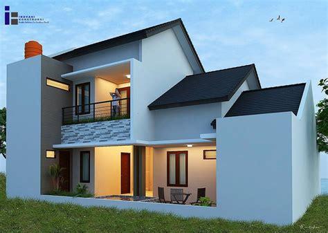 desain atap rumah bagian belakang gambar desain rumah minimalis 2 lantai bagian belakang