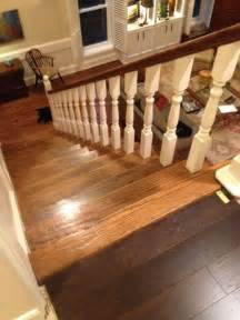 is it wrong to have different wooden flooring upstairs from downstairs