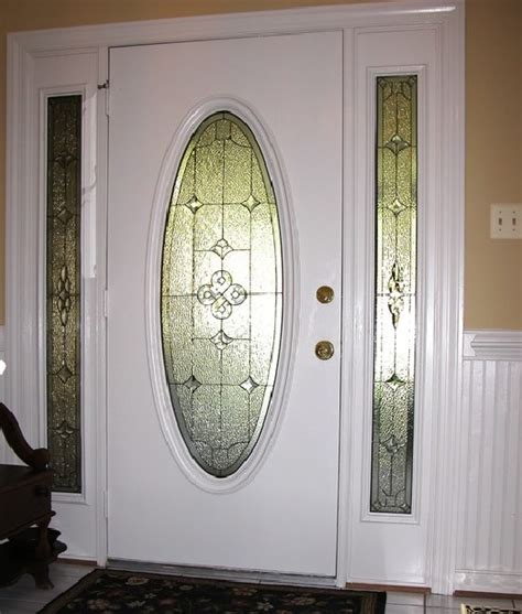 Front Door Inserts Decorative Leaded Glass Door Inserts Choosing Tips Home