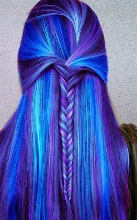 beautiful beautiful colored hair