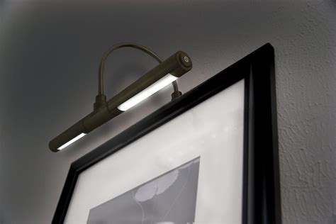 Artwork Lighting Led by Bronze Wireless Cordless Battery Operated Led Home Picture