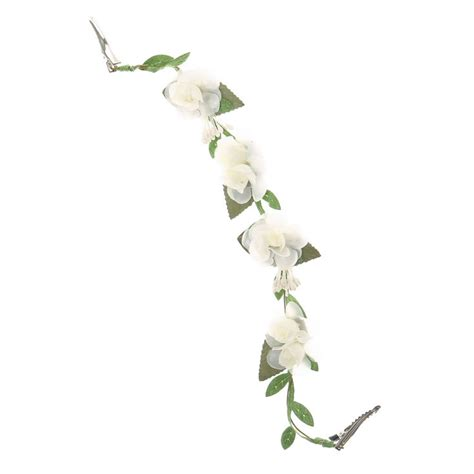 Decorative Vine Flowers ivory flowers on a vine decorative hair swag s us