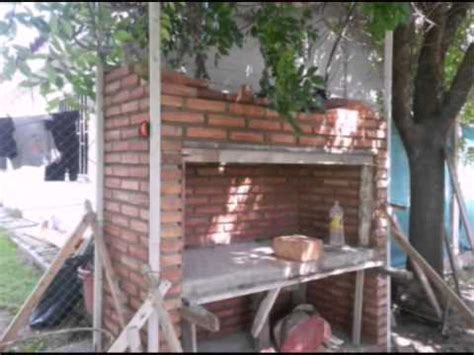 asador en ladrillo visto youtube