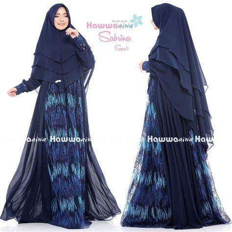 New Arrival Gamis Azzahra Syar39i By Dna Clothing Indonesia sabrina hawwa aiwa distributor gamis branded original murah