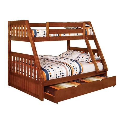 Bunk Beds Canberra Furniture Of America Canberra Bunk Bed With Trundle Atg Stores