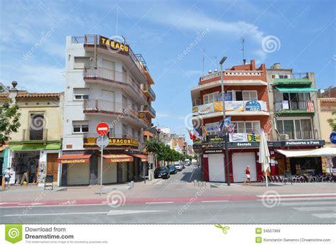 Calella, Costa Brava Beach. Editorial Stock Image   Image