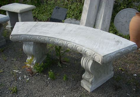 concrete patio bench garden tables and benches concrete decorative bench