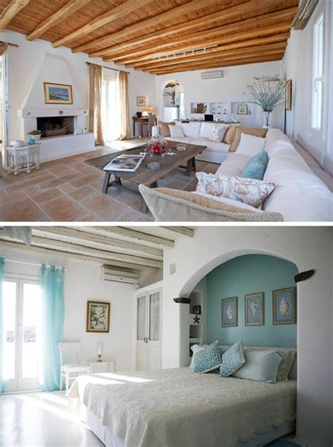 greek style home interior design dreams of greece a seaside home beautiful interiors