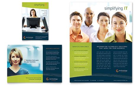 ad design layout ideas free leaflet template sle leaflet exles