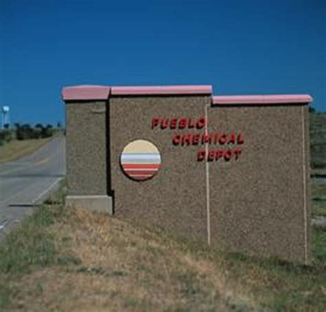 pueblo chemical depot army base in pueblo co complete