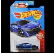 Hot Wheels 2016 HW Then And Now 2017 Acura NSX Blue