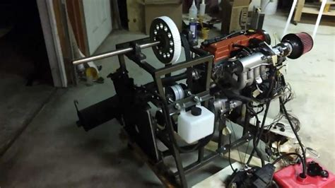 1 3 L Suzuki Engine Geo Suzuki 1 3l Engine Hovercraft Conversion