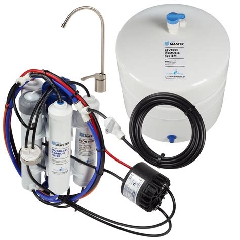 master water conditioning corp uv l home master ultra with permeate pump loaded under
