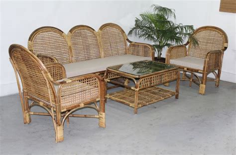 bambo sofa cane furniture cane sofaset rattan sofaset and bamboo