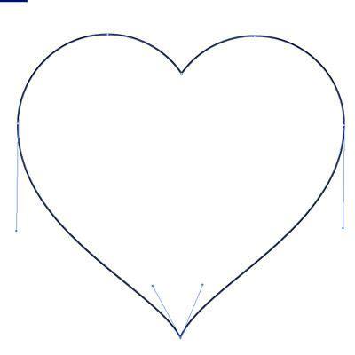 draw heart illustrator how to make a heart in illustrator design ideas