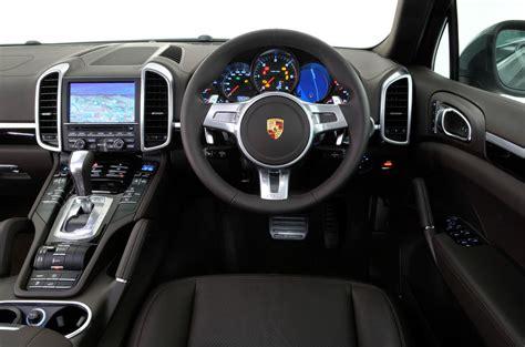 2011 porsche cayenne interior porsche cayenne design styling autocar