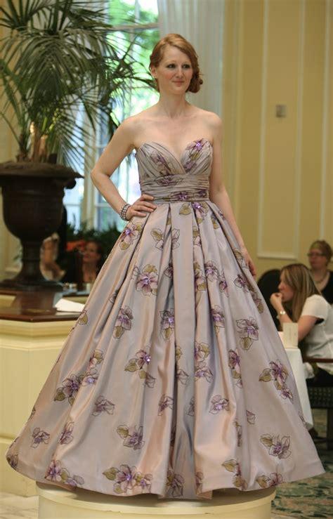 flower pattern wedding dress gorgeous purple grey sweetheart neckline wedding dress