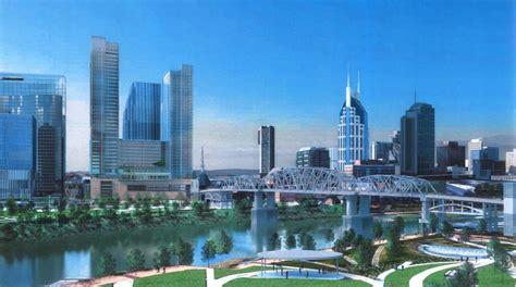 Riverfront Apartments Nashville Price 40 Story Riverfront Tower Triggers Debate