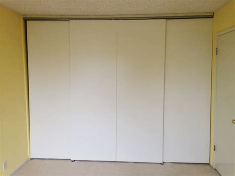 sliding walls ikea sliding doors across wide space using track hardware from
